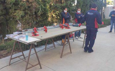 Finalizan los cursos de laminado porcelánico de Gran Formato impartidos por Fajovi